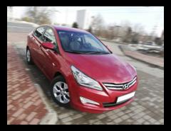 Прокат авто Прокат авто Hyundai Accent (2016 г.в., красный перламутр)