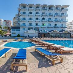Туристическое агентство Боншанс Пляжный авиатур в Албанию, Саранда, Saranda Palace 4+*