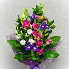 Магазин цветов Фурор Букет «Ночной август»