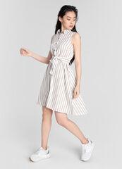 Платье женское O'stin Платье-рубашка в полоску LR5W92-T2