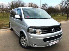 Прокат авто Аренда микроавтобуса Volkswagen Caravelle T5 2014 серебристый