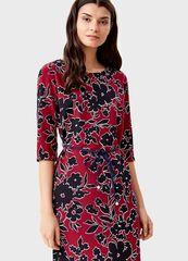Платье женское O'stin Платье с цветочным принтoм LR4T31-X8 br