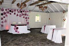 Магазин цветов Lia Бумажный комплект для ширмы и стола