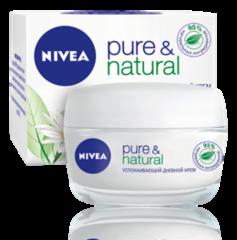 Уход за лицом NIVEA Успокаивающий дневной крем Pure&Natural