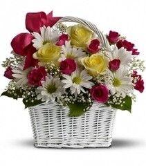 Магазин цветов Cvetok.by Цветочная корзина «Мое очарование»