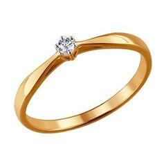 Ювелирный салон Sokolov Обручальное кольцо 1011345