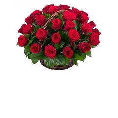 """Магазин цветов Долина цветов Корзина с цветами """"Любимой"""""""