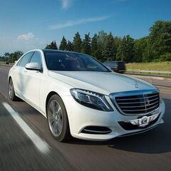 Прокат авто Прокат авто Mercedes-Benz W222 S-class белого цвета