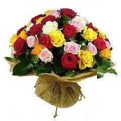 Магазин цветов Планета цветов Букет из роз №9