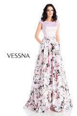 Вечернее платье Vessna Топ и Юбка длинная арт.1240 из коллекции VESSNA NEW