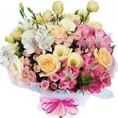 Магазин цветов Florita (Флорита) Букет поздравительный «Розали»