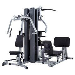 Тренажер Body-Solid Профессиональная мультистанция + опция «брусья-пресс» EXM-3000LPS