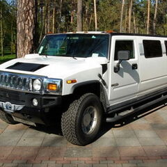 Прокат авто Прокат лимузина Hummer H2 белый