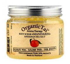 Уход за телом Organic Tai Натуральный скраб для тела «Мандарин»