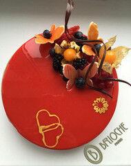 Торт Brioche Paris Торт №51 Вишня-пралине