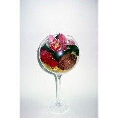 Магазин цветов Планета цветов Цветочная композиция в стекле №7