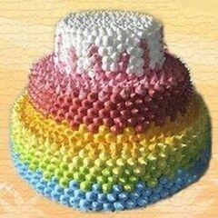 Торт Милано Свадебный торт №7