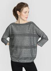 Кофта, блузка, футболка женская O'stin Джемпер женский из кроёного трикотажа LT4W12-95