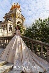 Свадебный салон Crystal Платье свадебное Golden