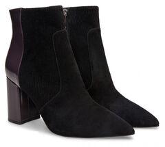 Обувь женская Ekonika Ботильоны EN1170-23 black/eggplant-18Z
