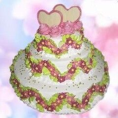 Торт Милано Свадебный торт №10