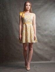 Платье женское MISUTERI Платье Yumi Yellow SS0171