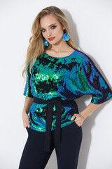 Кофта, блузка, футболка женская Elema Блузка женская Т-7905