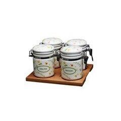 Подарок Tognana Набор емкостей для специй на поставке DOLCE CASA, 5 предметов