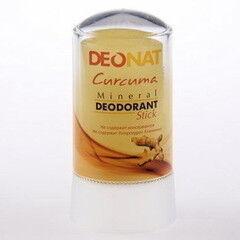 Уход за телом Deonat Антибактериальный квасцовый дезодорант с куркумой