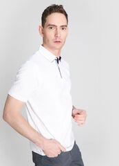Кофта, рубашка, футболка мужская O'stin Рубашка-поло с текстильным воротником MT4W75-00