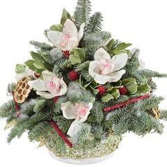 Магазин цветов Долина цветов Новогодние прелести