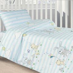 Подарок Ecotex Комплект постельного белья в детскую кроватку арт. 24