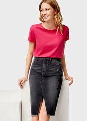 Кофта, блузка, футболка женская O'stin Базовая женская футболка LT6U31-R5