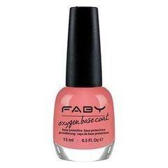 Декоративная косметика Faby Базовое покрытие для повреждённых ногтей