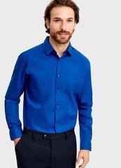 Кофта, рубашка, футболка мужская O'stin Рубашка из однотонного поплина MS6T31-65