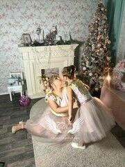 Вечернее платье ALIZA Family Look Кварц