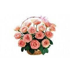 Магазин цветов Планета цветов Корзина с цветами №6