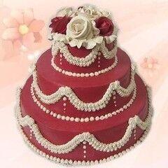 Торт Милано Свадебный торт №3
