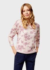 Кофта, блузка, футболка женская O'stin Джeмпер женский с цветочным жаккардом LK4U11-X1