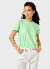 Кофта, блузка, футболка женская O'stin Базовая футболка из хлопка  женская LT6UB1-S7