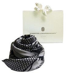 "Подарок Schopfer & Shaposhnikoff Платок S&S ""Самоцветы.Серый жемчуг"""