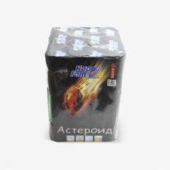 Фейерверк HappyFamily Батарея салютов «Астероид» FP-B206
