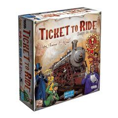 Магазин настольных игр Hobby World Настольная игра «Ticket To Ride: Америка»