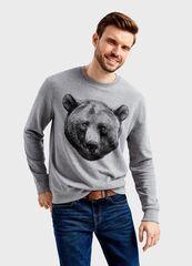 Кофта, рубашка, футболка мужская O'stin Толстовка с принтом MT1TB2-95