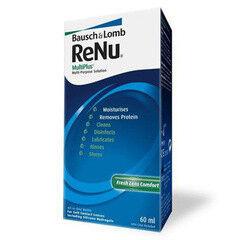 Уход за линзами Bausch & Lomb Раствор для линз ReNu MultiPlus, 60 мл