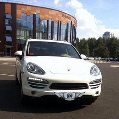 Прокат авто Прокат авто Porsche Cayenne (белый)