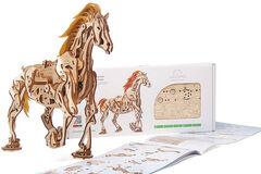 Подарок Ugears Механический 3Д пазл «Конь-Механоид»