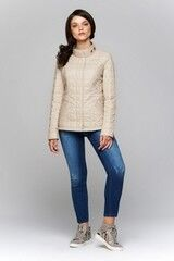 Верхняя одежда женская Elema Куртка женская плащевая утепленная Т-6198