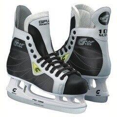 Коньки Graf Коньки хоккейные Super 105 Seven77