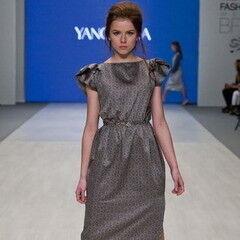 Белорусский дизайнер YANCHILINA Платье 1309